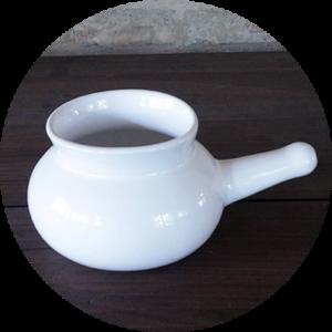 JALA BIANCA<br>Neti Lota in Ceramica