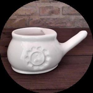 TARA BIANCA<br>Neti Lota in Ceramica